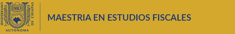 Maestria en Estudios Fiscales